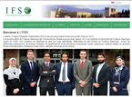Islamic Finance Students Organization (IFSO)