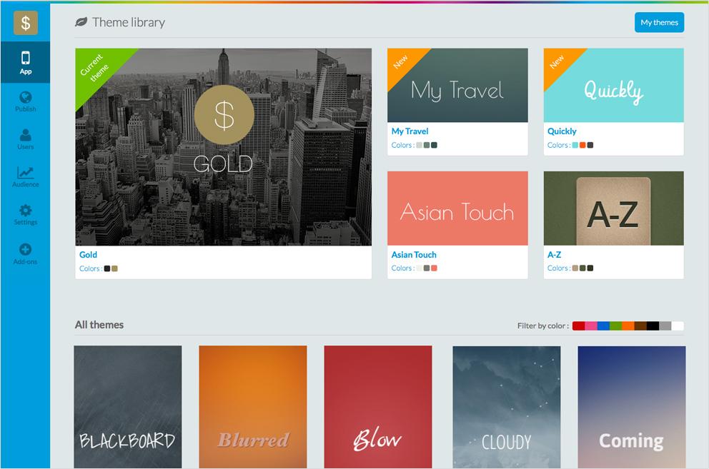 Goodbarber Gestalten Sie Apps Mit Der Beste App Gestalter F R Ios