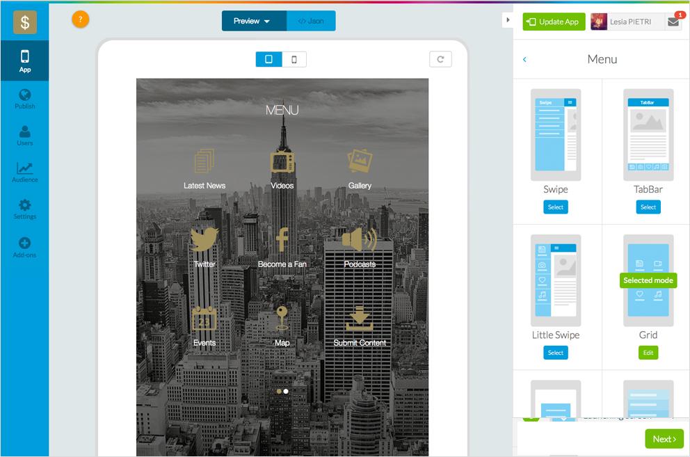 Goodbarber Crea Aplicaciones Con El Mejor App Builder Para Android E